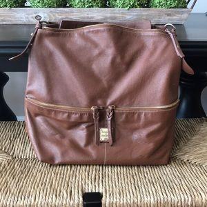Dooney & Bourke Large Leather Hobo
